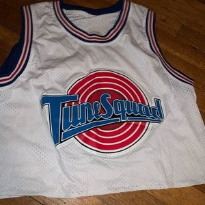 Cropped Lola space jam jersey